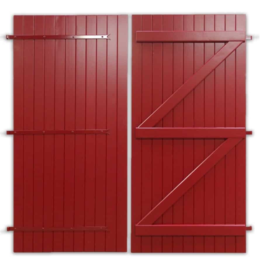 Portes de garage bois Guignard
